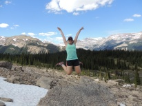 yeah! Iceline trail, Yoho National Park