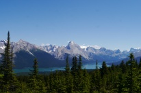 Lake Maligne, Bald hills tail, Jasper National Park