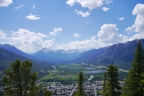 Vue de Banff, Mount Tunnel trail