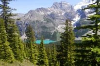 Lake Morraine, Eiffel Lake trail
