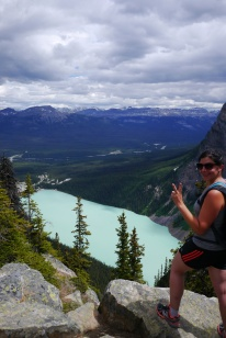 Lake Louise, big beehive trail, Banff National Park